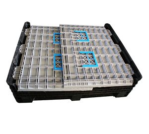 plastic pallet boxes with lids